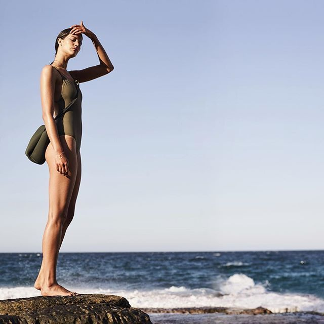 Whale Beach where we get #grounded #soegrounded #khakifestival State of Escape are the originators and creators of the perforated neoprene Escape carryall bag. 100% designed and handcrafted in Australia.