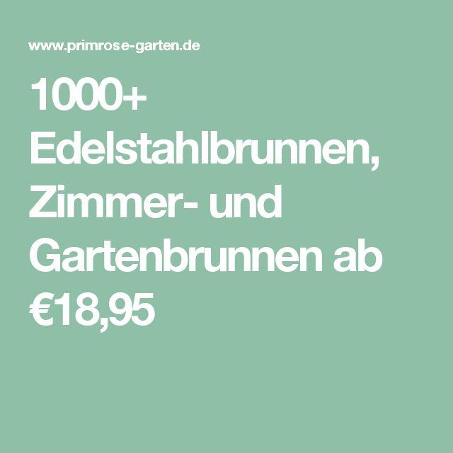 Great  Edelstahlbrunnen Zimmer und Gartenbrunnen ab uac