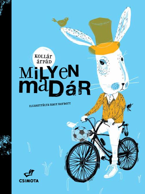 Design and Paper | Milyen madár – Childrens Book Illustrated by Nagu Norbert | http://www.designandpaper.com