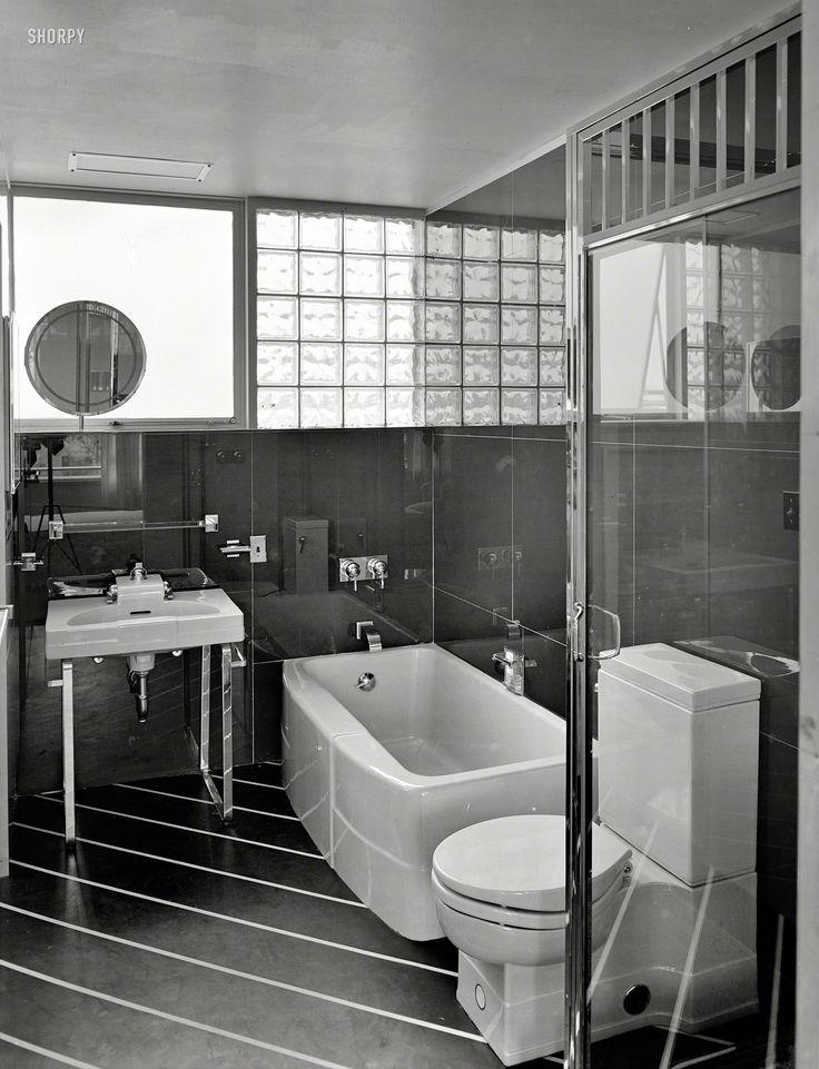 98 best images about bath vintage on pinterest art deco bathroom toilets and vintage bathrooms - Deco badkamer vintage ...