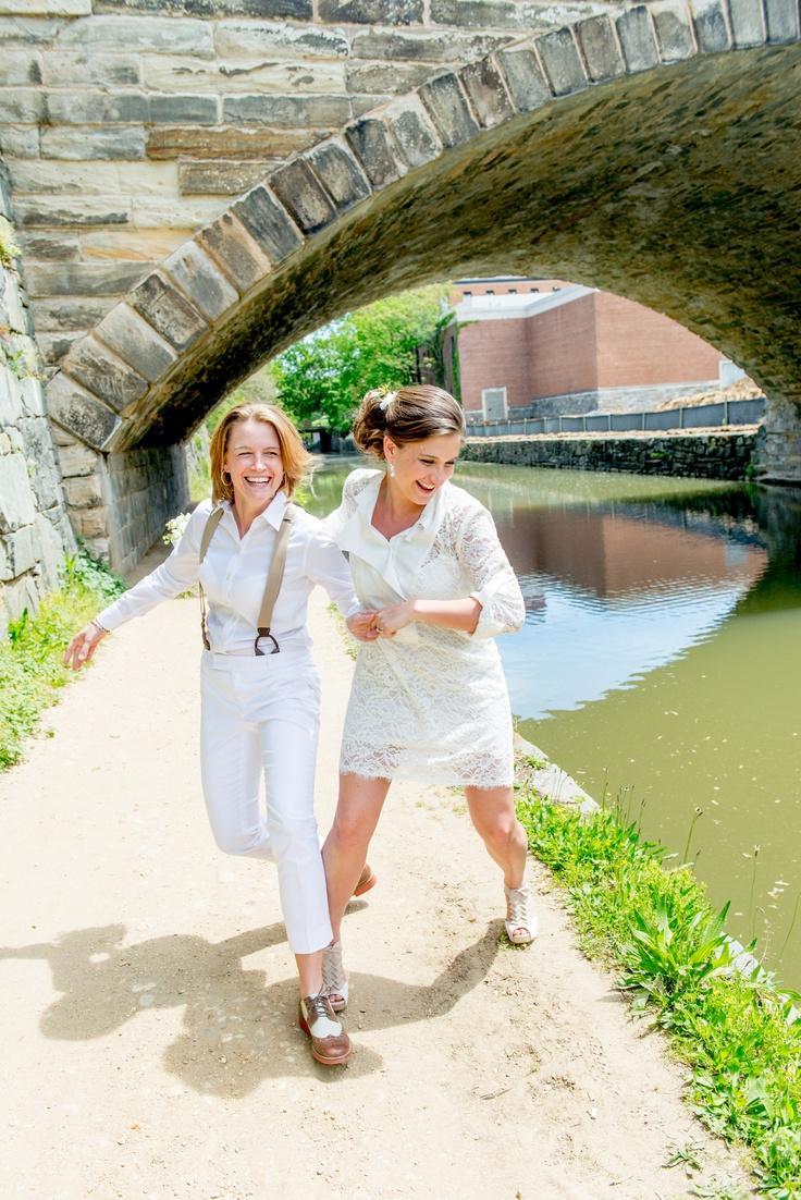 14 best dresses images on Pinterest Lesbian wedding Wedding