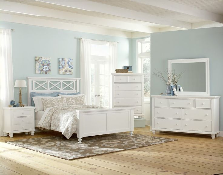 Vaughan Bassett Ellington Collection In White This Collection Features A Beautiful Garden