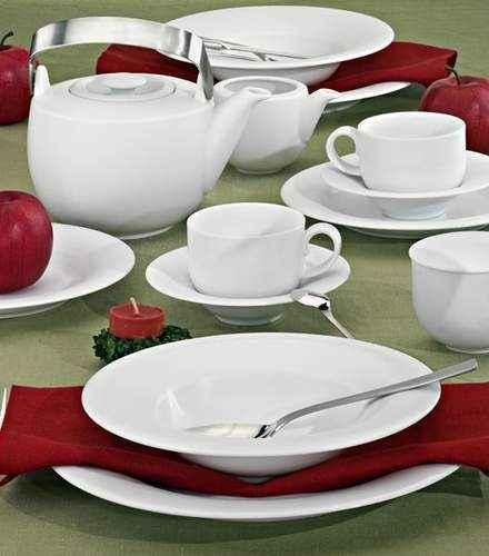 Villa Italia Plus White (Plus Biały) - serwis obiadowy dla 6 osób PA01/2