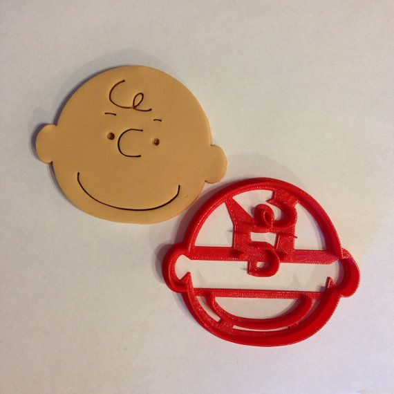 Charlie Brown cookie cutter by BoeTech on Etsy, $7.49