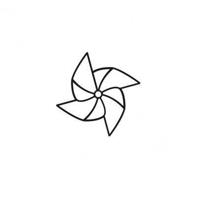 Set de 4 tatouages Origami
