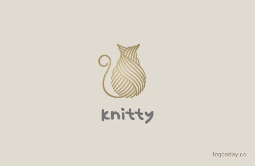 Knitty | All My Cat Logos