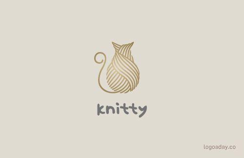 Knitty | All My Cat Logos