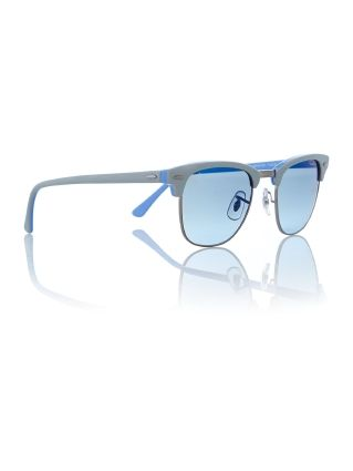 Ray-Ban Mens Grey Clubmaster Sunglasses