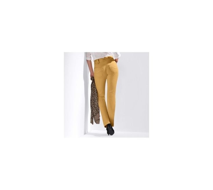 Rovné nohavice s vysokým pásom, nízka postava | blancheporte.sk #blancheporte #blancheporteSK #blancheporte_sk #newcollection #autumn #fall