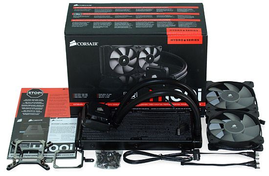 Hydro Series Corsair H100i ..cause air is never cold enough Stay tuned : www.facebook.com/PCWhisperer.gr