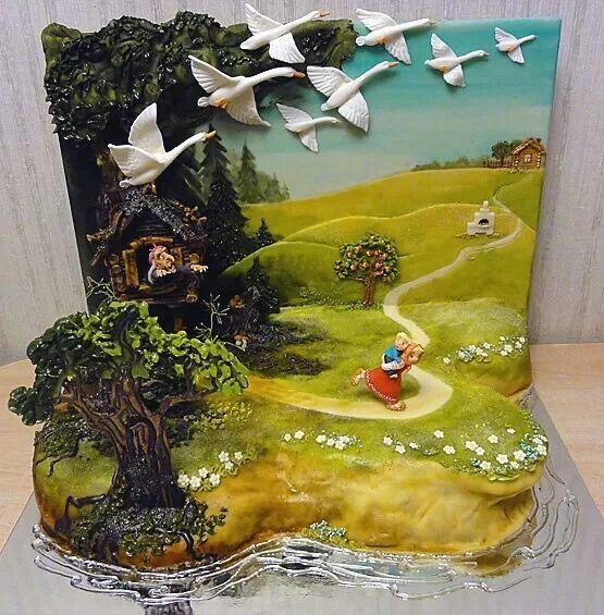 Love the cake backdrop - Artcake.ru