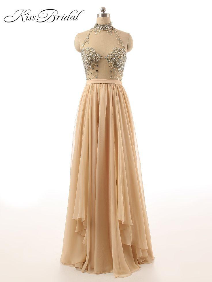>> Click to Buy << Sexy Prom Dresses 2017 Vestido De Formatura Longo Halter Neck Sleeveless Women Pageant Dresses Evening Party Gowns  #Affiliate