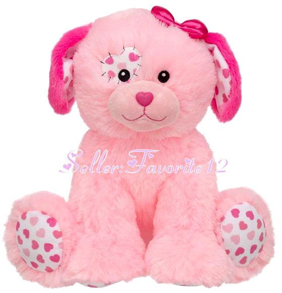 Pink Paws Build A Bear