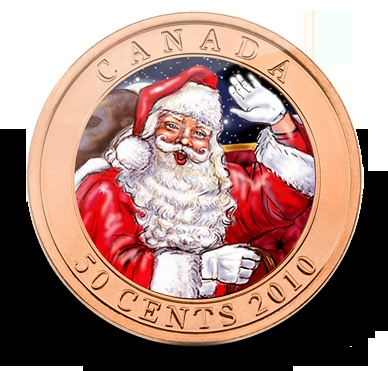 Santa Rudolph Coin from The Royal Canadian Mint