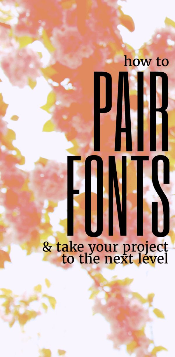 Knowing how to pair fonts WELL is a crucial skill in branding! I love this guide because it not only gives you solid tips, but explains WHY those tips matter in typography!