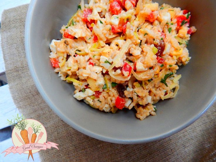 Najlepsza sałatka ryżowa