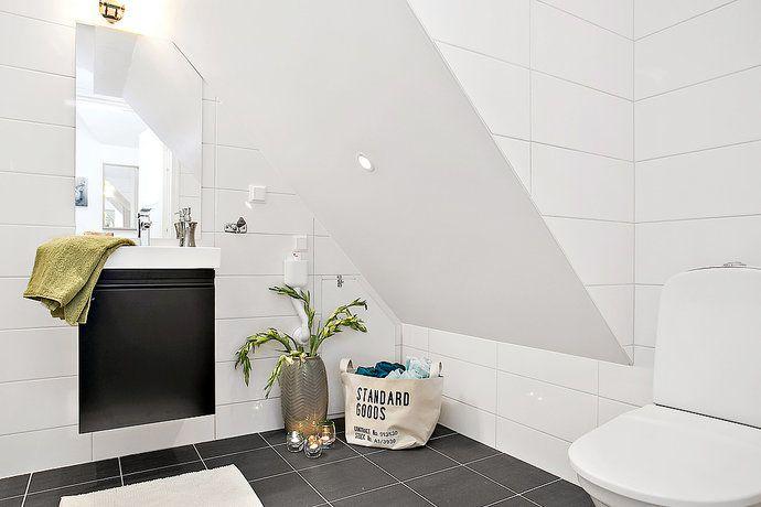 Scandinavian Bathroom Decoration www.homescandinavia.com Sverige, Danmark, Norge, Finland skandivisk badrum, badeværelse, hjem dekorasjon, boligindretning, heminredning