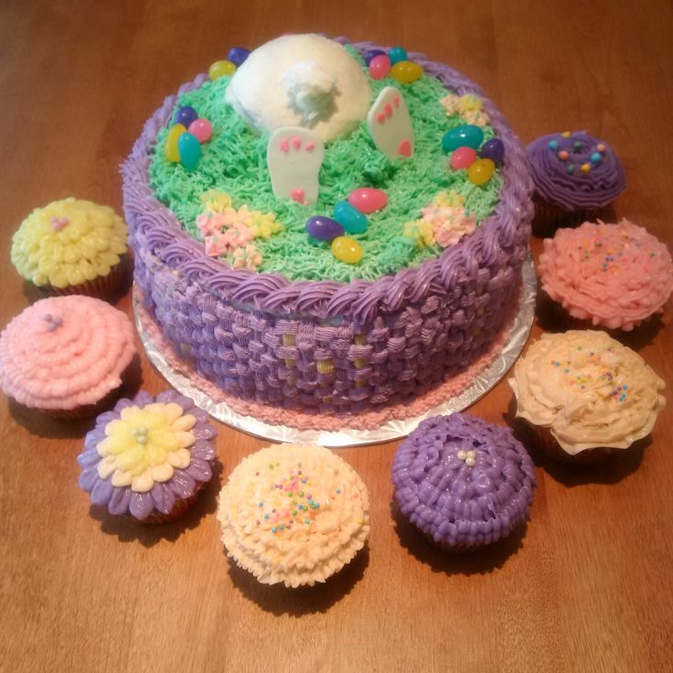 Easter buttercream