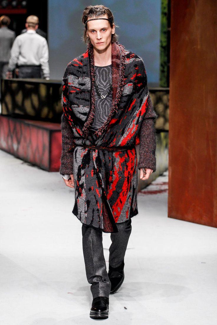 Roberto Cavalli Fall 2014 Menswear Collection Photos - Vogue