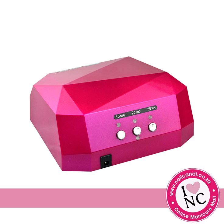 36W LED Nail Lamp - 12W CCFL and 24W LED - also has removable bottom tray.