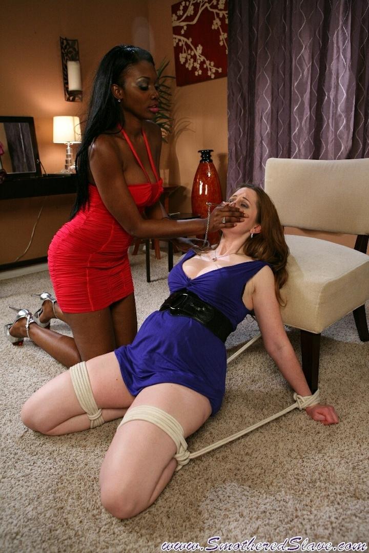 Bondage - smothered slave