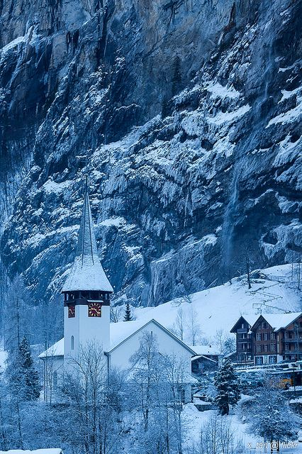 Salvation belongs to the Lord. Your blessing is upon Your people. [Psalm 3:8] (Lauterbrunnen Valley, Swiss Alps)