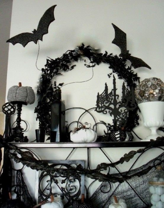 90 best HALLOWEEN DECOR images on Pinterest Halloween decorations - classy halloween decor