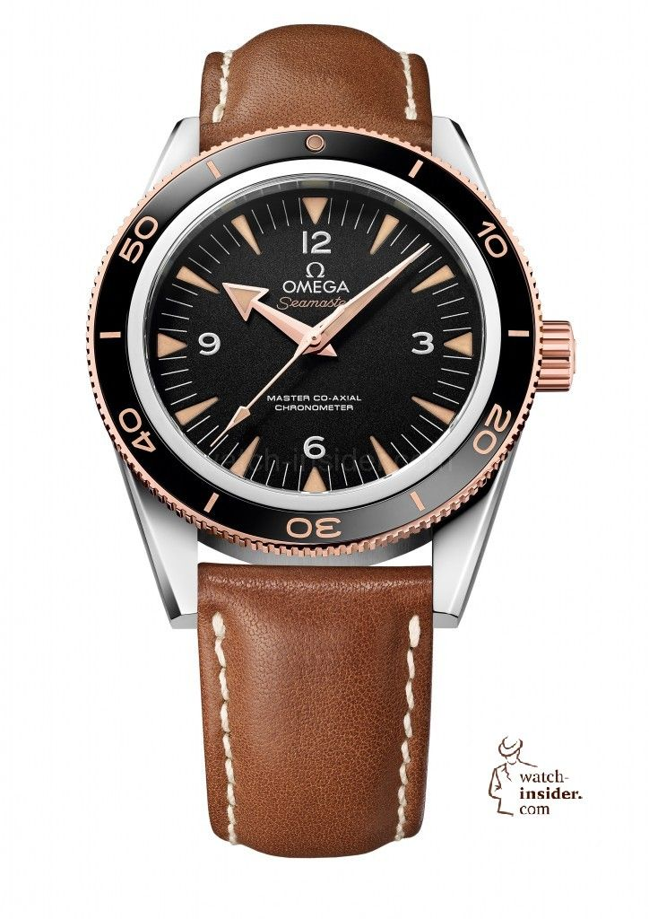 Omega Seamaster 300 and Omega Diver 300m ETNZ (Emirates Team New Zealand) Co-Axial Chronograph