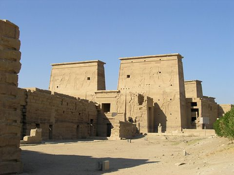 11 best investigating all mysteries of ancient egypt images on first pylon at philae fandeluxe Gallery