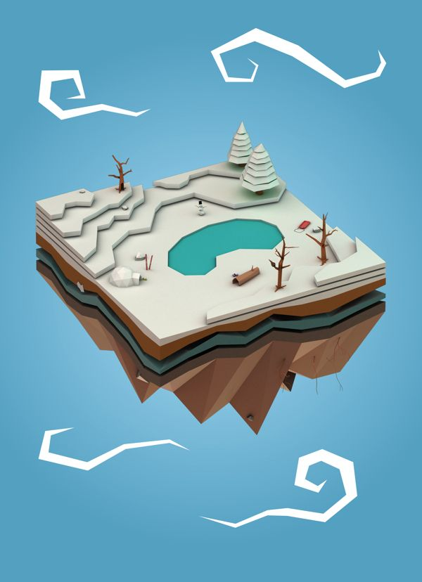 LP Snowscape on Behance