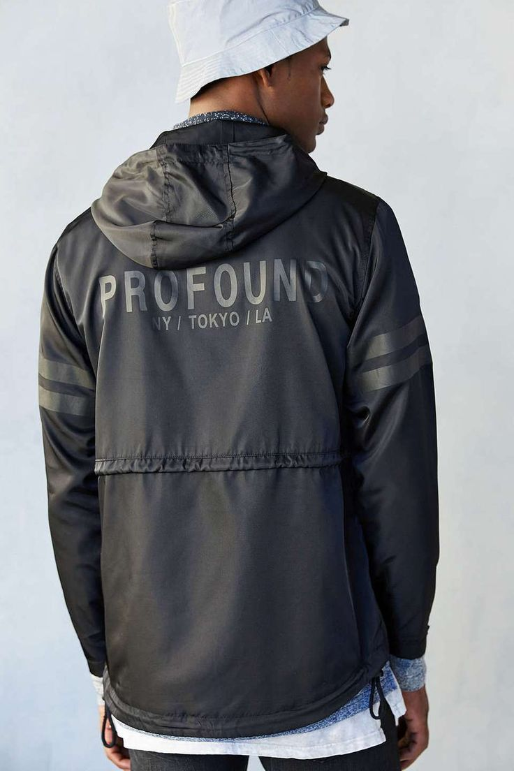 Leather jacket aesthetic - Profound Style Profound Aesthetic Pullover Anorak