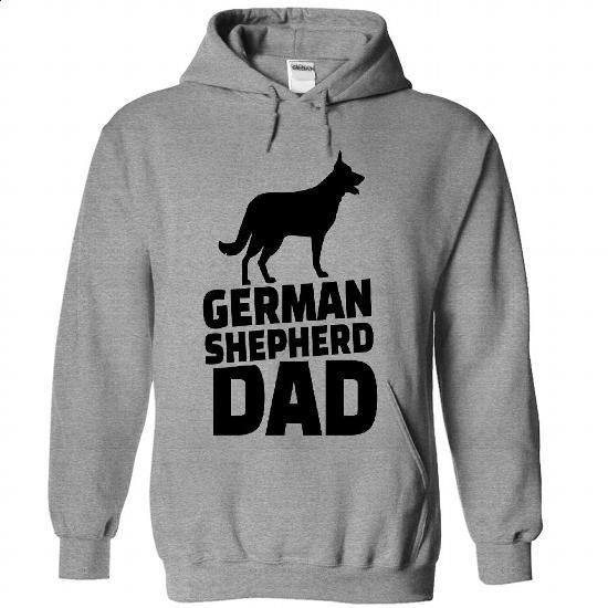 German shepherd Dad Full Color  - #cool hoodies #first tee. PURCHASE NOW => https://www.sunfrog.com/Valentines/German-shepherd-Dad-Full-Color-9560-SportsGrey-Hoodie.html?60505