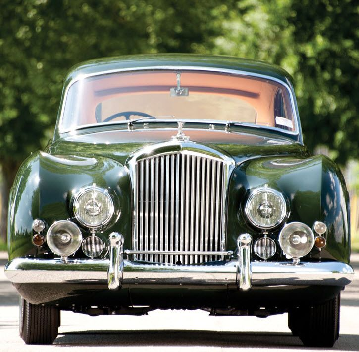 Cars Bentley Continental R 1992: Fastback Sports Saloon By H.J