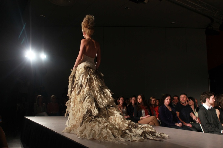 A snap shot of the Griffith College Creative Show in 2011 - the annual fashion event showcases Ireland's up and coming student designers.  #Fashion #Design #CreativeShow