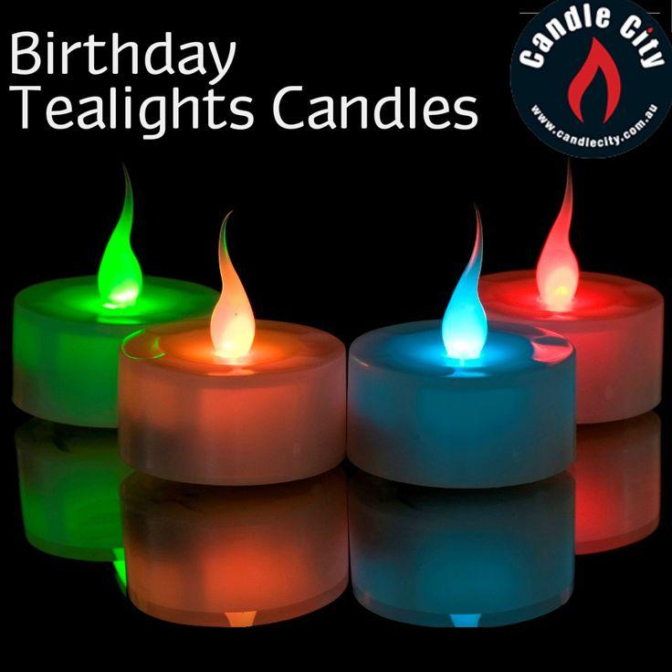 #Zing up Birthday #celebrations with #Tealight candles  http://goo.gl/VTq6KC