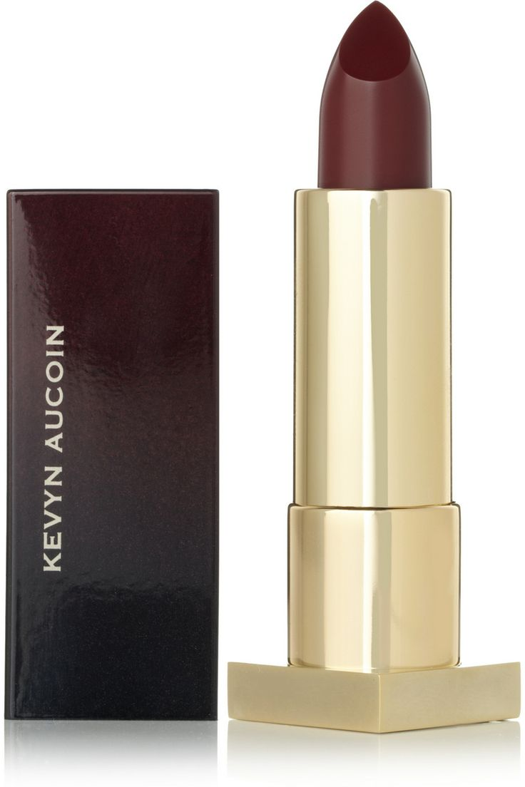 Kevyn Aucoin | The Expert Lip Color - Blood Roses. Shop the Tough Luxe issue of The Edit magazine.