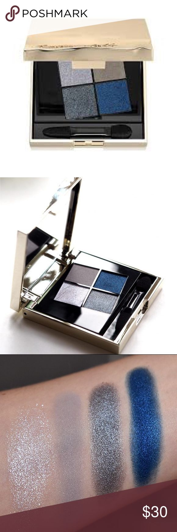 Smith and Cult Eyeshadow Quad 'Ice Tears' NWB Smith and Cult Eyeshadow Quad 'Ice Tears' NWB. Swatches were found online. Brand new in box. 100% Authentic. No trades. Reasonable offers are welcome smith & cult Makeup Eyeshadow