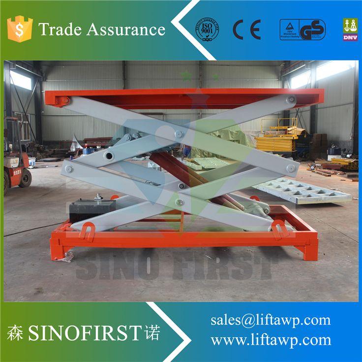 SINOFIRST brand 4m scissor lifting platform #Affiliate