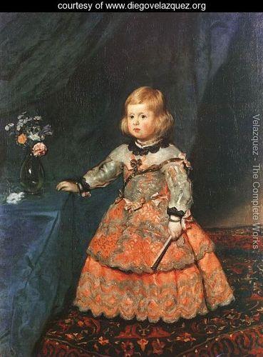 The Infanta Margarita 1653 - Diego Rodriguez de Silva y Velazquez - www.diegovelazquez.org