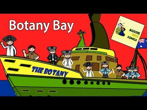 Botany Bay with Lyrics | Aussie Kids Songs | Australian Nursery Rhymes - YouTube