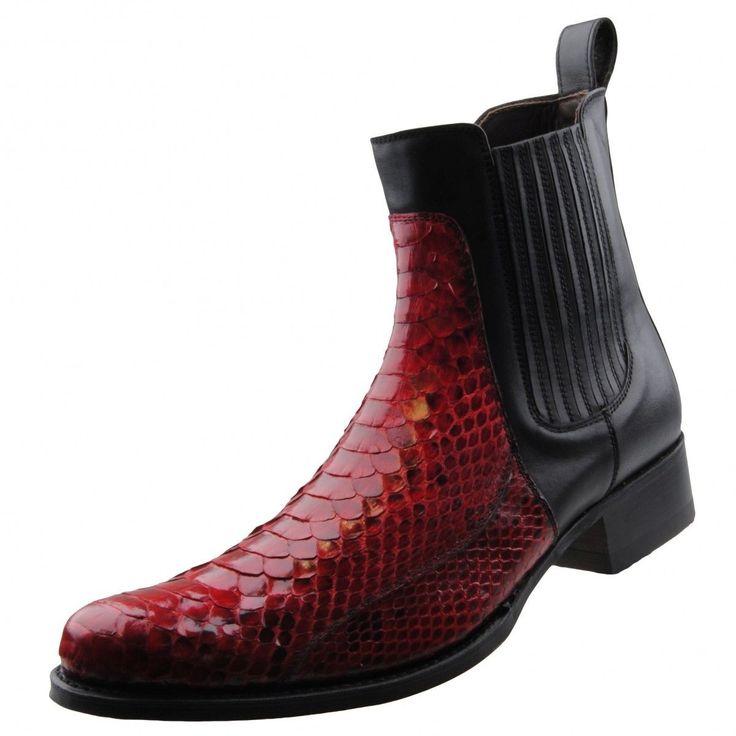 Neu SENDRA Herrenschuhe Stiefeletten Stiefel Herrenstiefel Pythonleder Schuhe . . . . . der Blog für den Gentleman - www.thegentlemanclub.de/blog