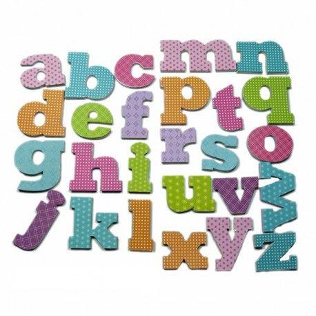 Stickers Alphabet Multicolore
