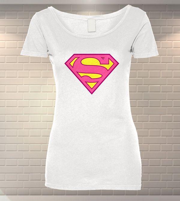 Tricou Dama Personalizat Supergirl   Tricouri Bumbac   Tricouri Ieftine   MeraPrint.ro va pune la dispozitie o gama variata de produse personalizate!