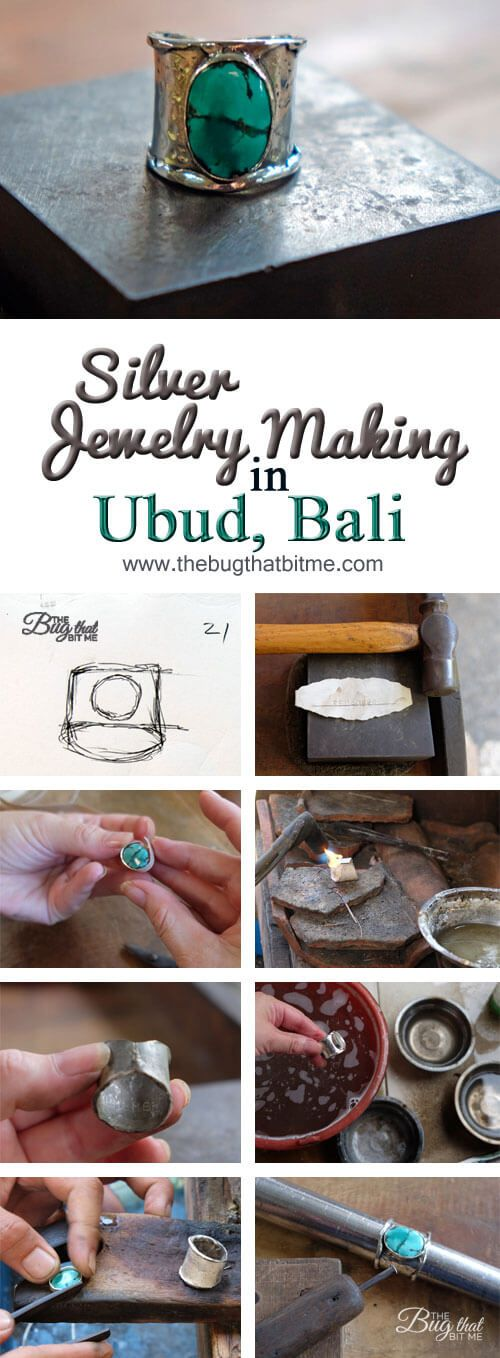Silver Jewelry Making Class in Ubud, Bali | The Bug That Bit Me