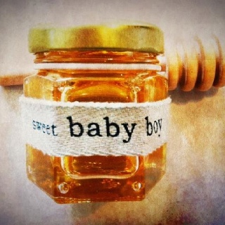 "Holy Honey Company - baby shower gift idea ""sweet baby boy or girl"""