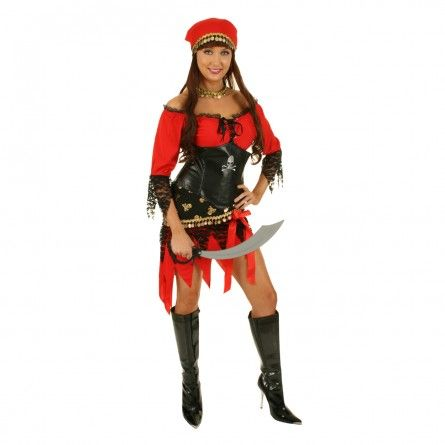 Womens Gypsy Pirate Costume