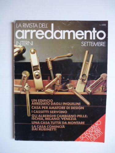 INTERNI-LA-RIVISTA-DELL-ARREDAMENTO-n-293-settembre-1979-ARREDAMENTO-DESIGN
