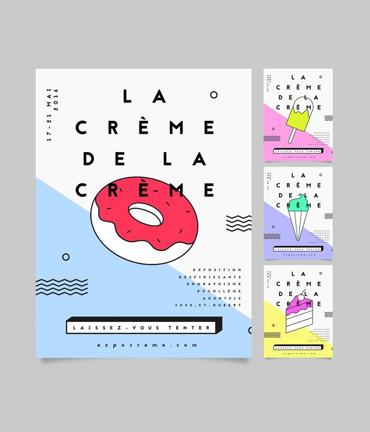 La crème de la crème on Behance