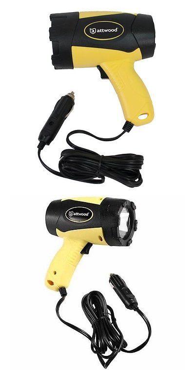 12-Volt Portable Appliances: Marine Handheld Spotlight - Lumens - 12V Light Led Portable Att Power Volt -> BUY IT NOW ONLY: $35.59 on eBay!