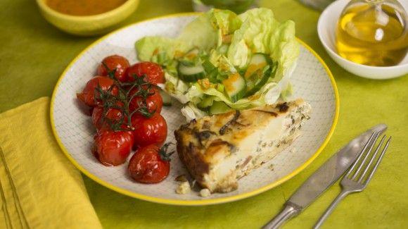 Spaanse groente tortilla